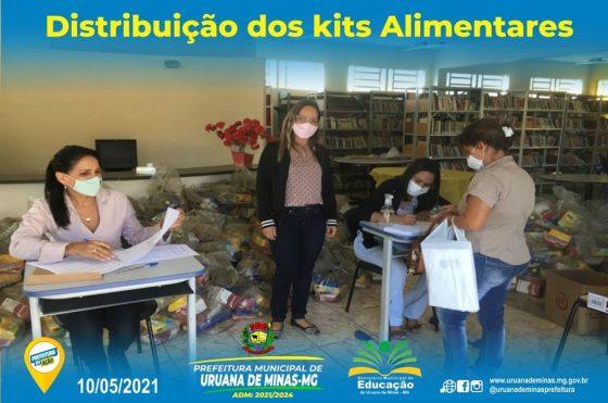 Prefeitura Municipal via Secretaria M. de Educação está realizando, a distribuição dos kits alimentares para TODOS os alunos matriculados creche e escolas municipais da sede e Distrito do Cercado.