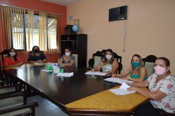 Reunião da Equipe da Secretaria Municipal de Educação com a Prefeita Tânia Menezes