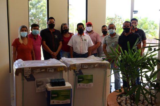 A CEMIG, com o apoio do movimento Unidos Pela Vacinas, realizou uma doação a Prefeitura de Uruana de Minas.