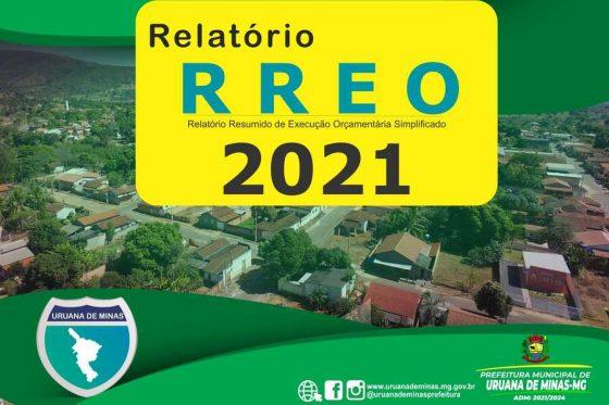 RREO Relatório Resumido de Execução Orçamentária Simplificado 2021